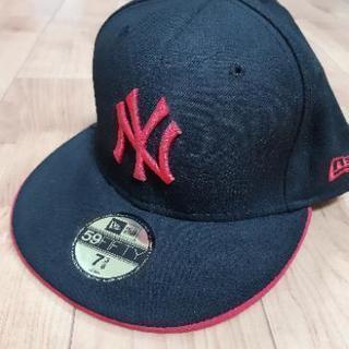 ニューエラ 帽子 ブラック×ピンク