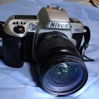 ニコンF60 ニコン純正レンズ28~80mm UVフイルター付き