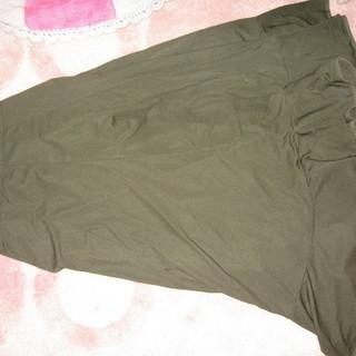 フラメンコ 深緑 ダークグリーン スカート