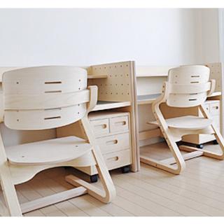 美品★フォルミオ★北欧学習机&椅子30万相当★(全て一台です)