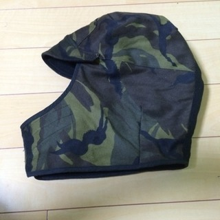 【A.P.C.】フランス製迷彩防寒帽