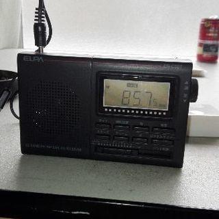 ELPA エルパ 朝日電器 ワールドワイドポータブルラジオ ER...