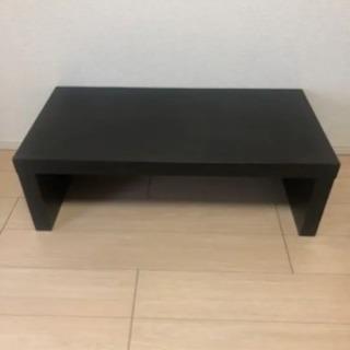 ウッド調のローテーブル 無料