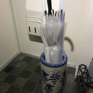傘立て 陶器 美品