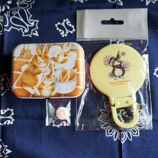 改)わちふぃーるど うさぎのマーシィ 手鏡・ミニケース・ファイルセット