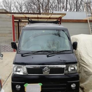 日産 クリッパーリオ 黒 4WD エアコン 5MT 100000k...