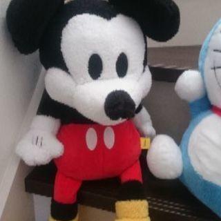 90周年?のビッグミッキーマウスぬいぐるみ限定品【まりこ風味】