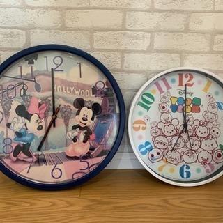 ディズニー 掛け時計 セット