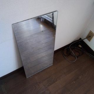 【無料で差し上げます】 中くらいの鏡(ミラー)