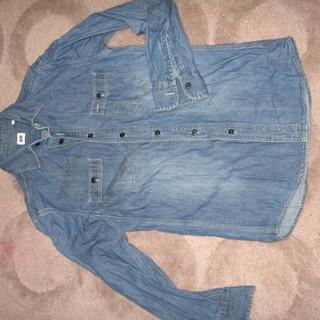 ユニクロ デニムシャツ Sサイズ