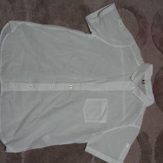 GU 白の半袖シャツ Lサイズ