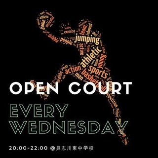 毎週(水)オープンコート@具志川東中 #バスケ