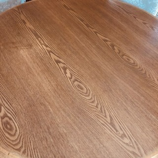 丸テーブル、椅4脚 フレンチテイスト