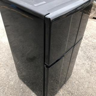 BLACK 2door冷蔵庫🚪🍖💦