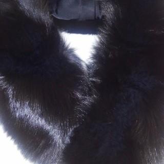 ファーマフラー(黒)
