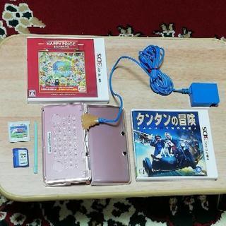 ニンテンドー3DS 本体(訳あり品) ゲーム3本(トリコ グルメモ...