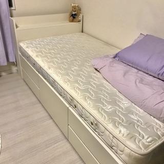 収納ベッド ホワイト