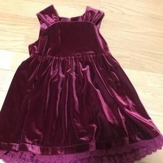 ジャンバースカート110 美品