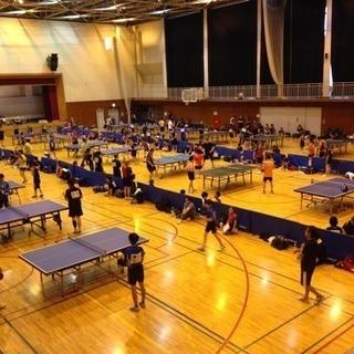 第36回ワンピースとちぎ卓球大会練習会(下野市)