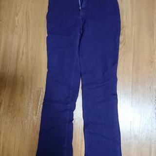 ☆値引き☆紫スキニーパンツ