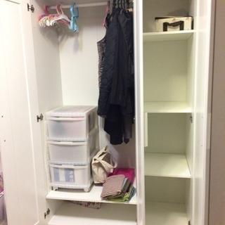 *最終値下げ¥1,000*IKEA クローゼット 大型家具 ワードローブ