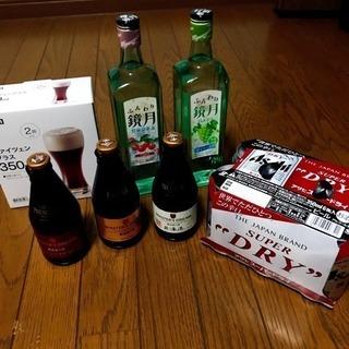 未開封!プレミアムビール&鏡月2種類&スーパードライ!