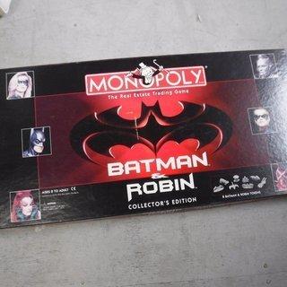 モノポリー バットマン ロビン