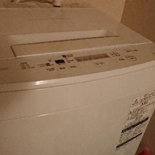 東芝洗濯機4.5キロ 2018年購入 AM-45M5