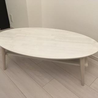テーブル(ホワイト)★500円均一セール★