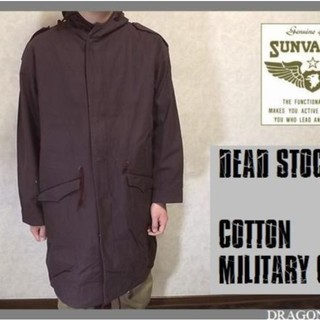 【SUN VALLEY】MILITARY COAT L XL X...