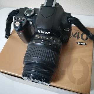 ニコンのデジタル一眼レフカメラ、おまけ有り