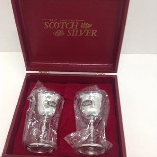 SLOTCH ワイングラスセット SILVER シルバーメッキ