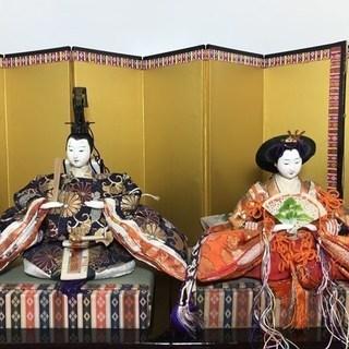 ★【無料】ひな人形 雛人形 新王飾り 草園【0円】川口市★