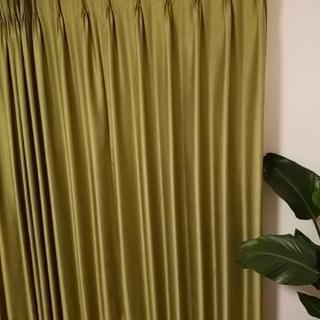 オーダーカーテン☆。.:*・゜ グリーン