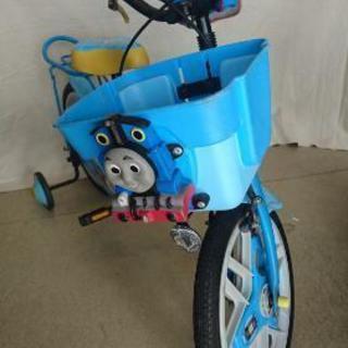 トーマスの自転車 16インチ 補助輪&スタンド付き