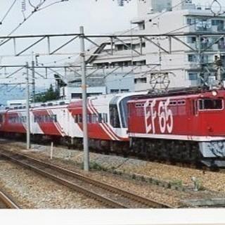 鉄道写真 国鉄形機関車 2枚セット