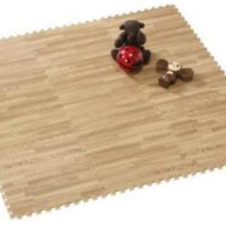 【新品未開封】木目のジョイントマット3畳分(9枚×6セット)