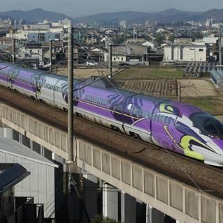 鉄道写真 JR西日本 500系新幹線 500 TYPE EVA