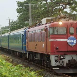 鉄道写真 ED79形+24系北斗星