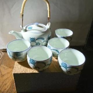 急須&湯飲み茶碗セット(木箱入り)