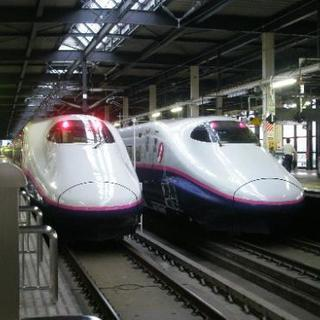 鉄道写真 E2系1000番台 並び写真