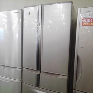 【6か月間保証付き!】MITSUBISHI 6ドア冷蔵庫 16年製...