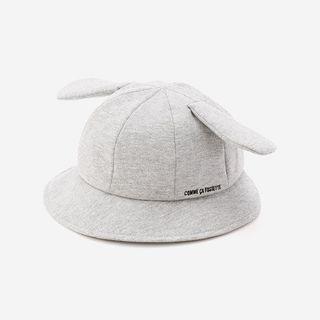 【送料無料】COMME CA FOSSETTE耳付き赤ちゃん帽子の画像