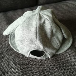 【送料無料】COMME CA FOSSETTE耳付き赤ちゃん帽子 - 子供用品