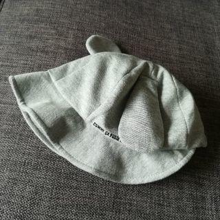 【送料無料】COMME CA FOSSETTE耳付き赤ちゃん帽子 - 練馬区