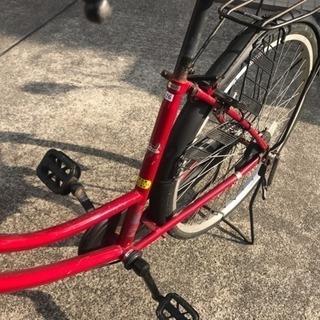 自転車 26インチ 赤 − 千葉県