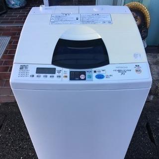 ※終了※▼値下げ▼日立 洗濯機 7kg ステンレス槽