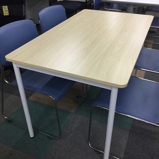 中古美品 ミーティングテーブル 会議机 作業台 1200×700
