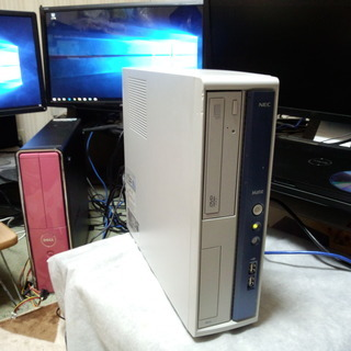 デスクトップパソコン NEC MATE Windows10 64B...