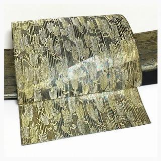 極上 未使用 美品 上質 正絹 袋 二重太鼓 作り帯 二部式 ゴー...